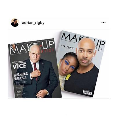 Makeup Artist Magazine Adrian Rigby